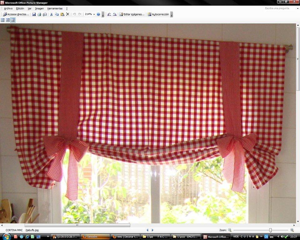 Alba hogar desde tu ventana de la cocina for Como poner ganchos de cortinas