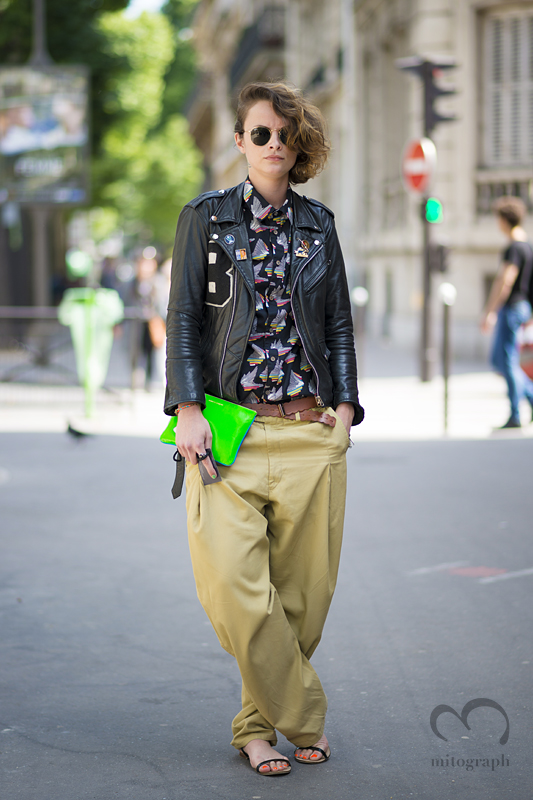 mitograph Marie Douchet After Paul Smith Paris Mens Fashion Week 2014 Spring Summer PFW Street Style Shimpei Mito