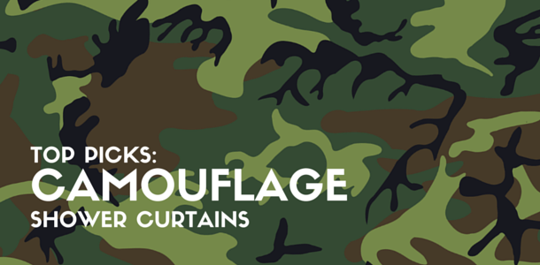 Best Camouflage Shower Curtains Available Online