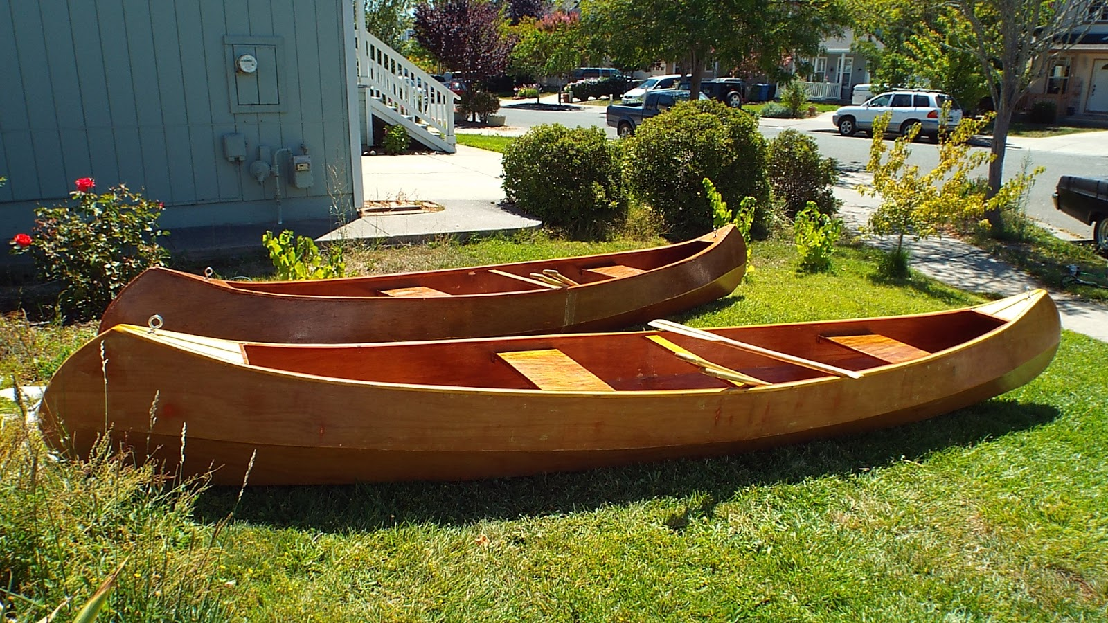how to build a homemade canoe