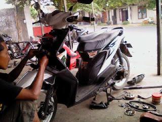 Tips Cara Merawat Motor Matik