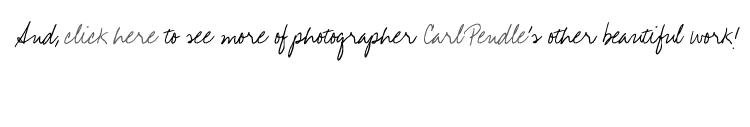 Photographer Carl Pendle link