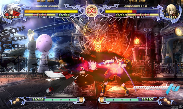 BlazBlue Calamity Trigger PC Full Español Descargar DVD9