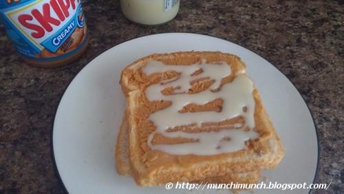 Peanut Butter Condensed Milk Spread via http://munchimunch.blogspot ...