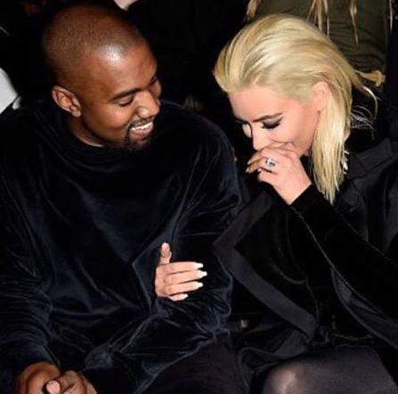 Kim Kardashian and Husband Kanye West Shares Love and Laughter - Photos