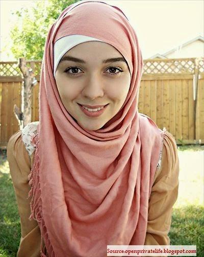 Hijab moderne fille