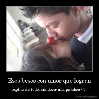 Frases De Amor: Esos Besos Con Amor Que Logran Explicarte Todo Sin Decir Una Palabra