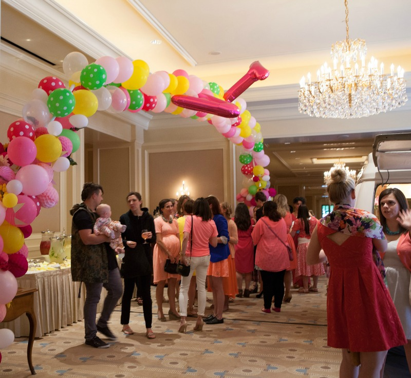 Alt Summit Picnic Party + Balloon Arch; inside the ballroom