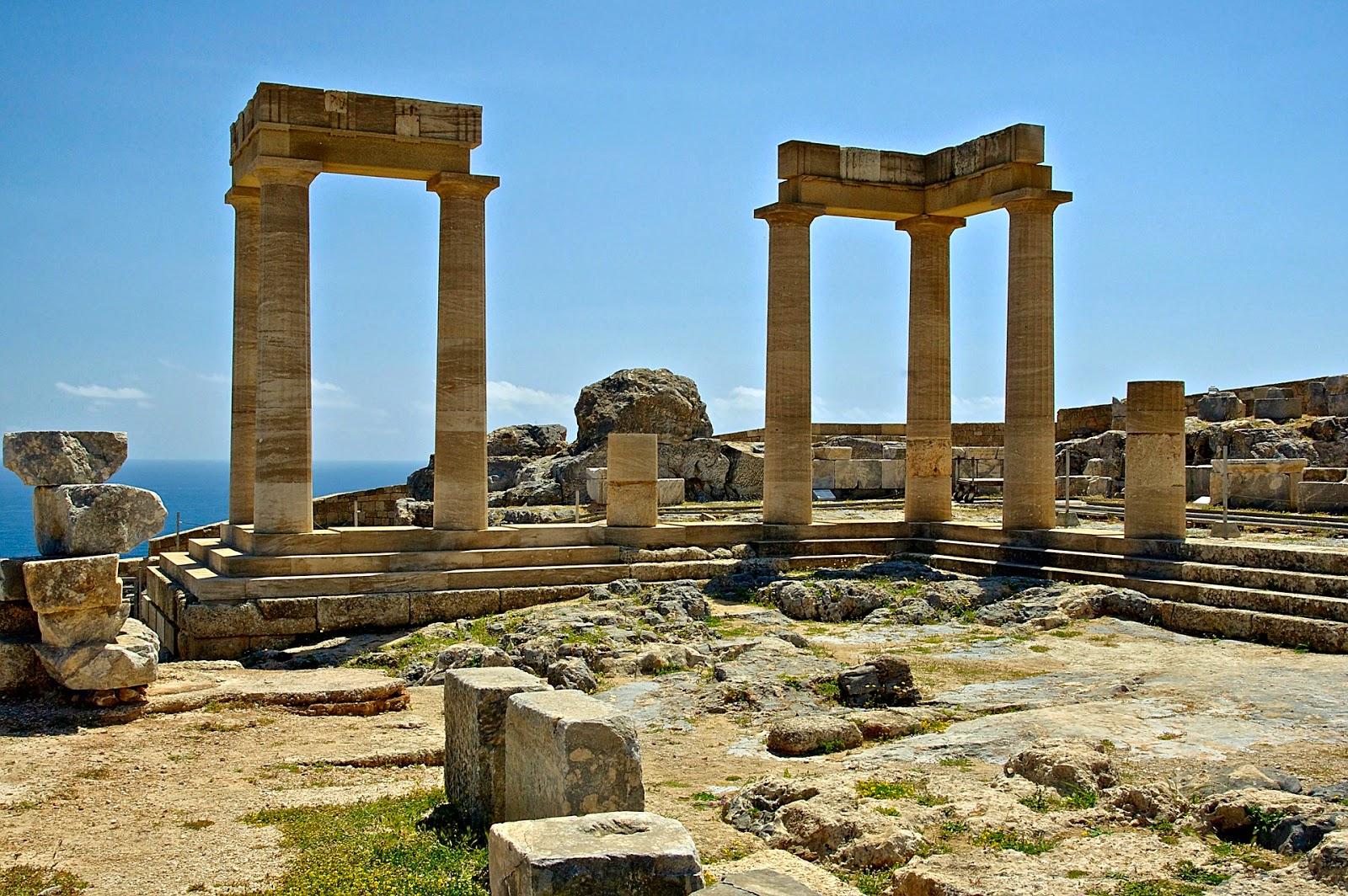 http://pixabay.com/en/rhodes-greece-temple-of-athena-106237/