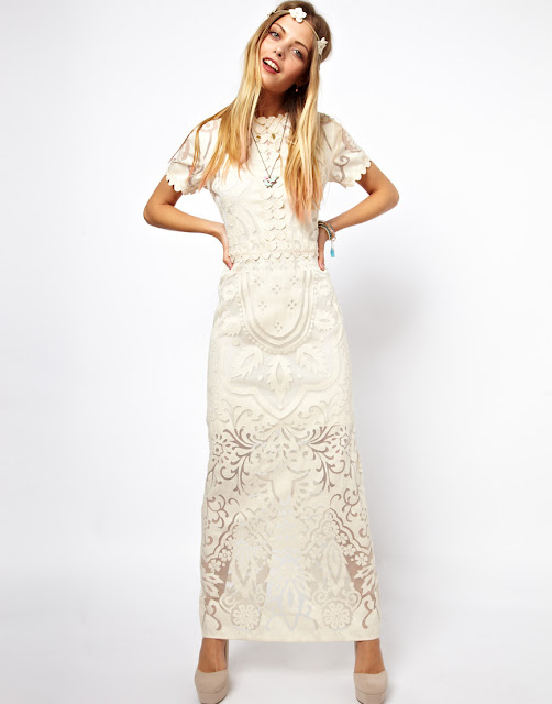applique lace dress