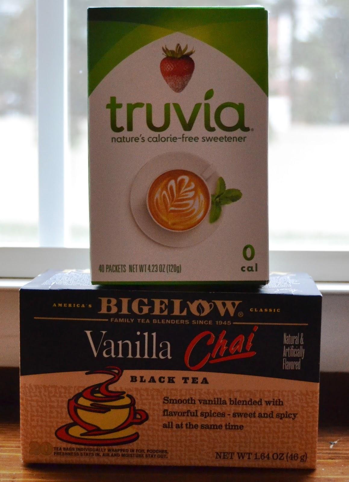 Bigelow Tea and Truvia