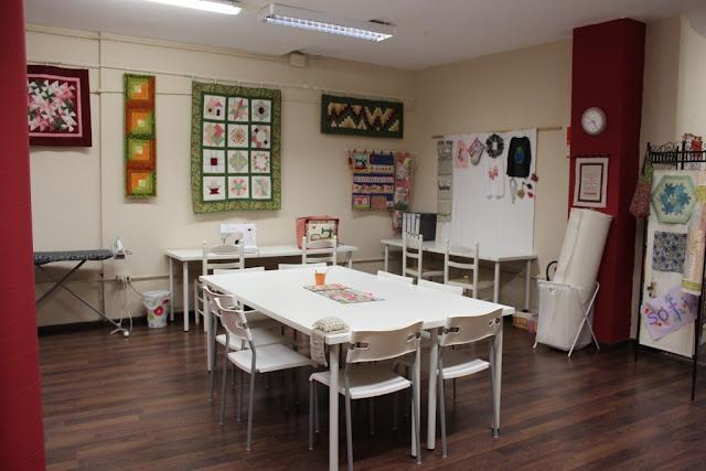 Salón de cursos de la nueva tienda de Vilabors