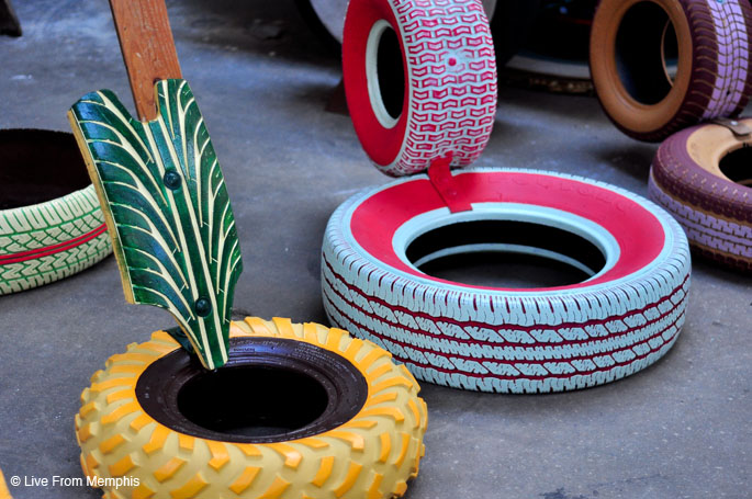 how to make tyre furniture