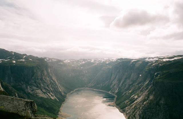 Trolltunga Troll's tongue Norway hike