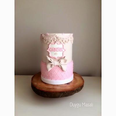 edirne hoşgeldin bebek pastası