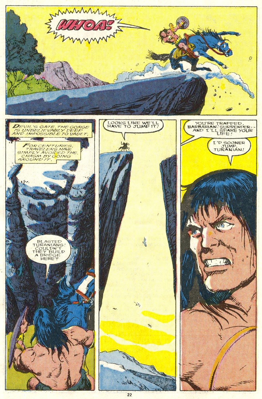 Conan the Barbarian (1970) Issue #219 #231 - English 18