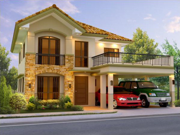 Carmela house model at mission hills antipolo house and for Model house design
