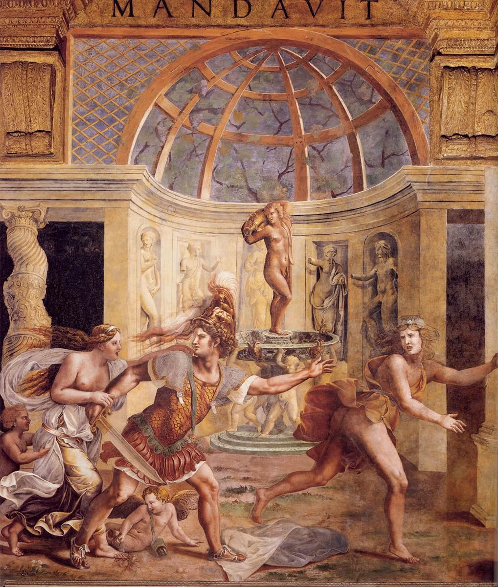 giulio romano venus adonis