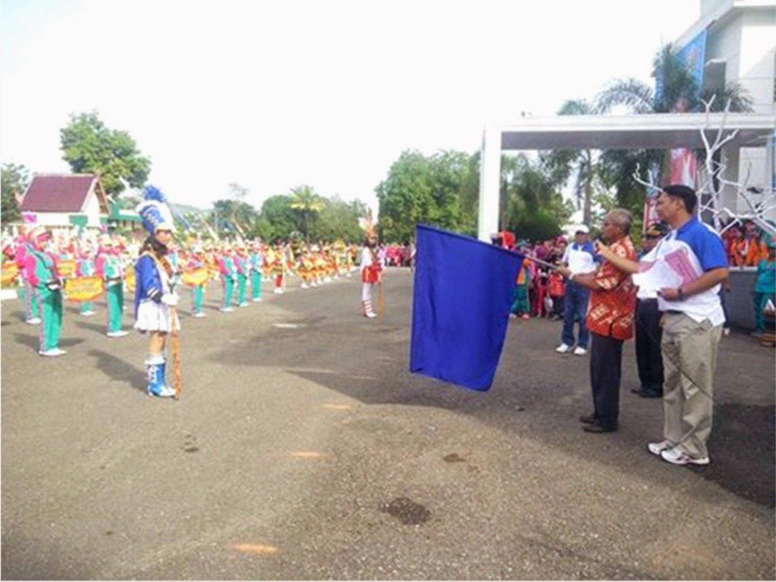 Semarak, Lomba Drum Band tingkat SD dan SMP di Kota Bima