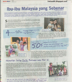 FEATURED IN HARIAN METRO : FRISO CAMPAIGN