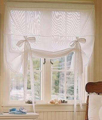 Dise o y decoraci n de la casa novedosas cortinas para la for Disenos de cortinas para cocinas modernas