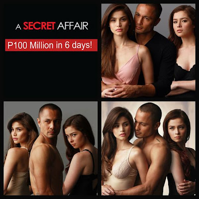 'A Secret Affair' Grosses P100 Million in 6 Days, Certified Box Office Hit!