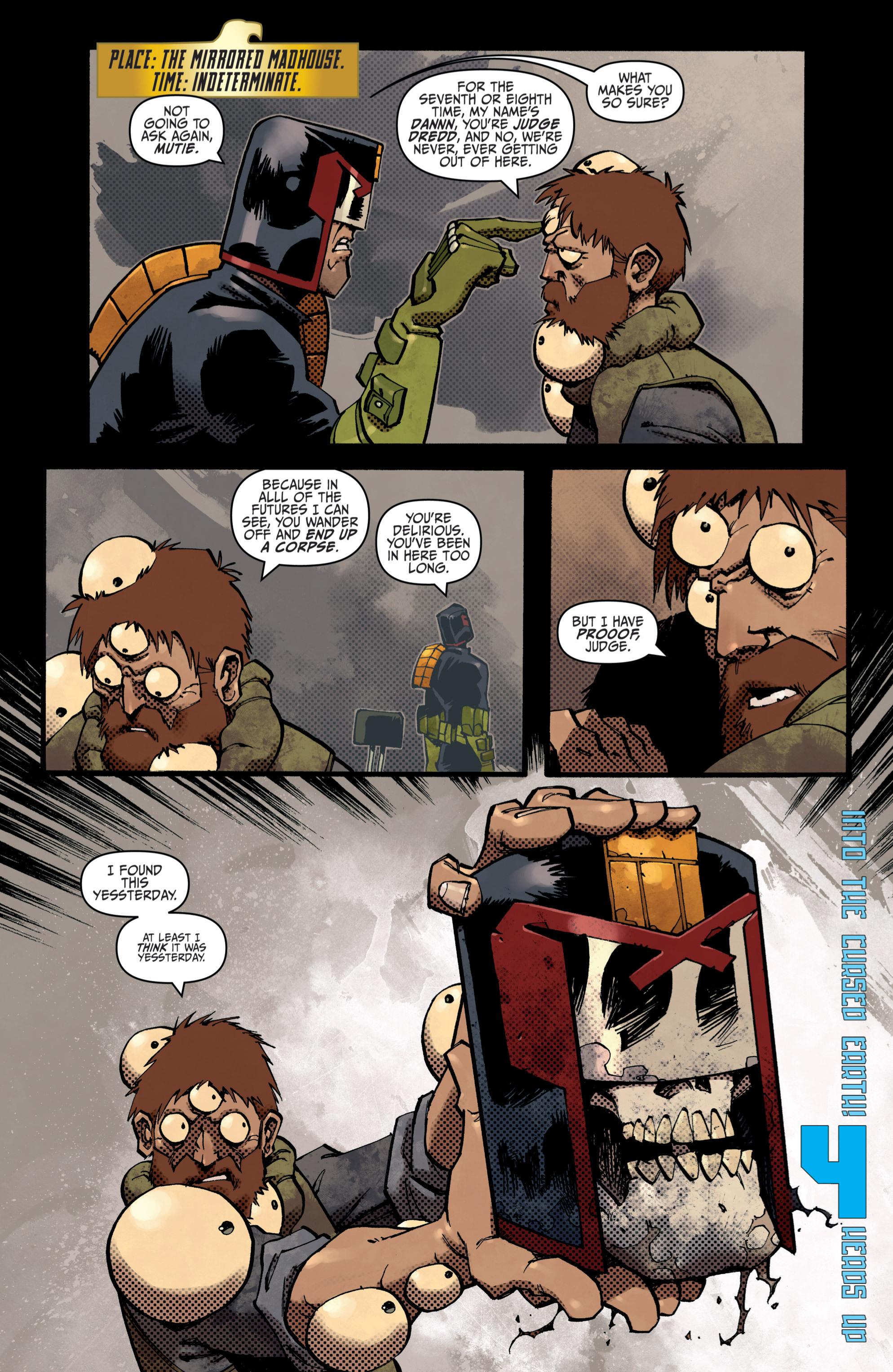 Read online Judge Dredd (2012) comic -  Issue # _TPB 3 - 27