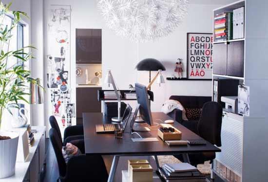 quem no pode ter uma diviso em casa destinado apenas para o escritrio deparase com o desafio de ter de enquadrar o escritrio noutra diviso