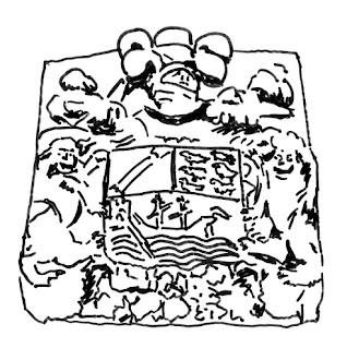 Escudo de la casa del marqués de Ferrera en Luarca