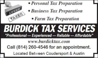 Burdick Tax Services--Bookkeeping, payroll