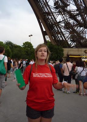 Skip the line! The Eiffel Tower, La Tour Eiffel, Paris, France www.thebrighterwriter.blogspot.com
