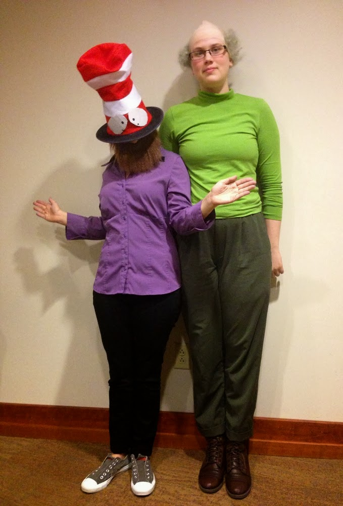 Mr. Garrison and Mr. Hat might be the best couple's costume ever... South park