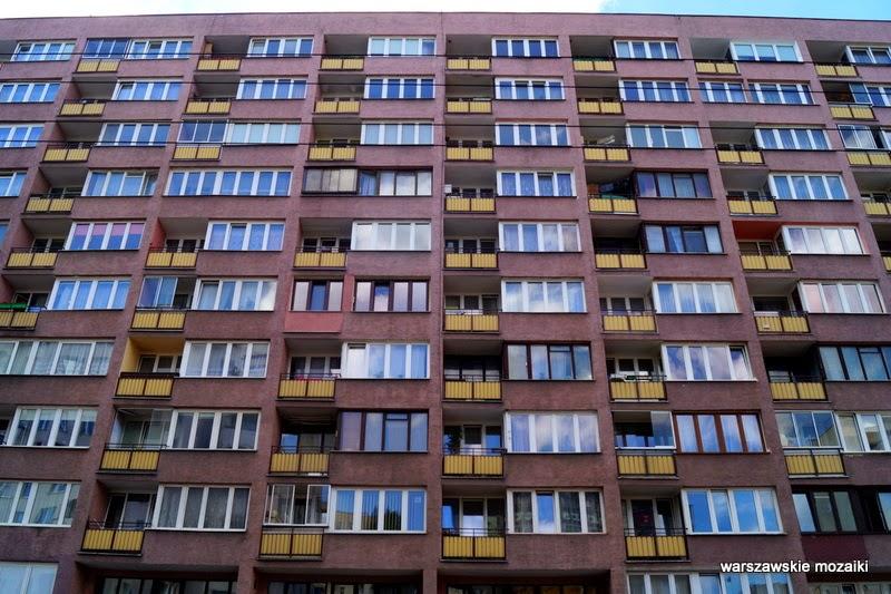 Wola Warszawa blokowisko warszawskie mozaiki