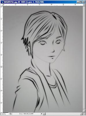 Gambar - Hasil membuat manga di edisi 1