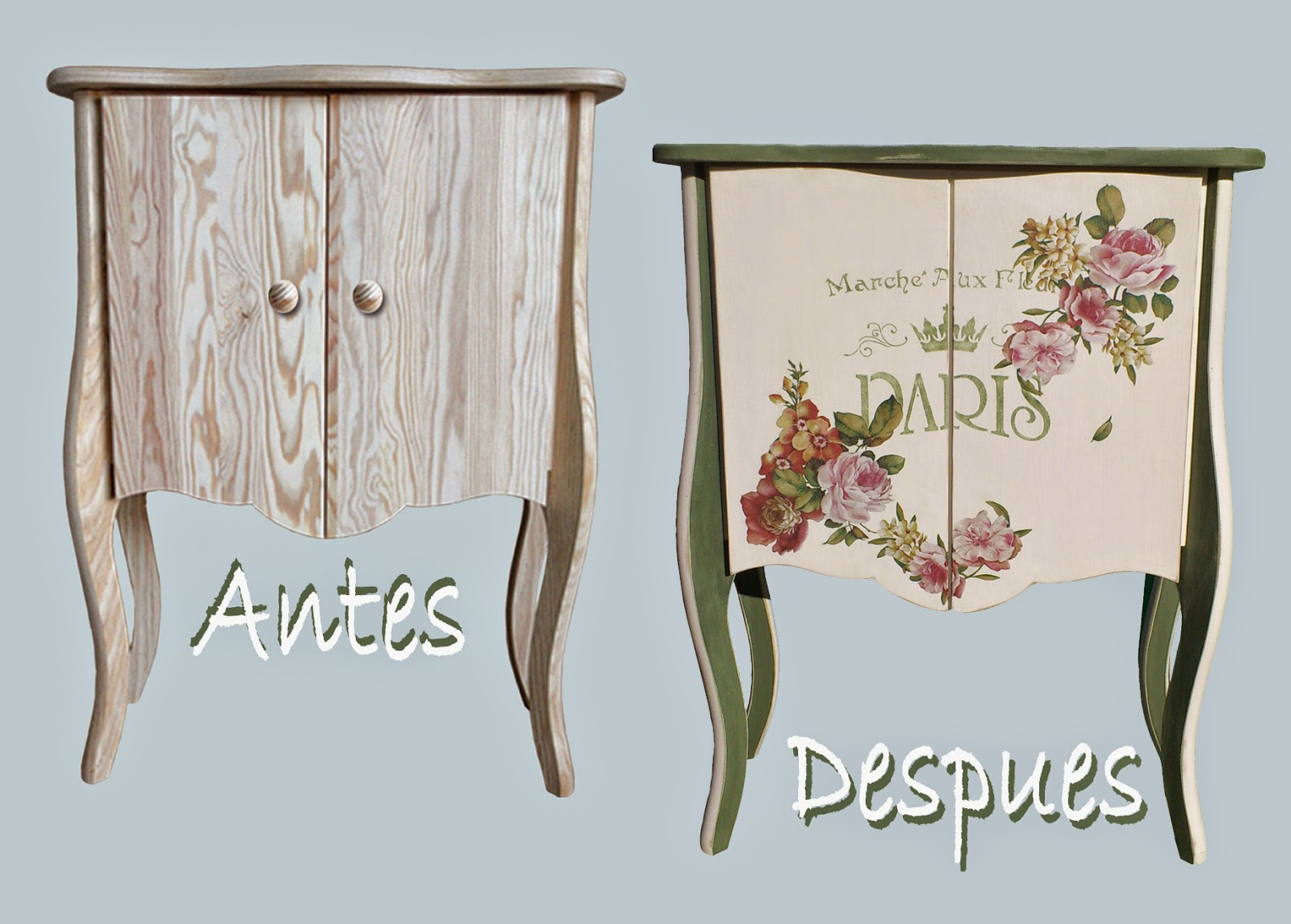 El chalky blog mueble bar con pintura chalky americana for Papel de arroz para decorar muebles