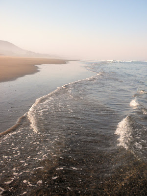 photo of waves in Rockaway Beach Oregon by Nancy Zavada