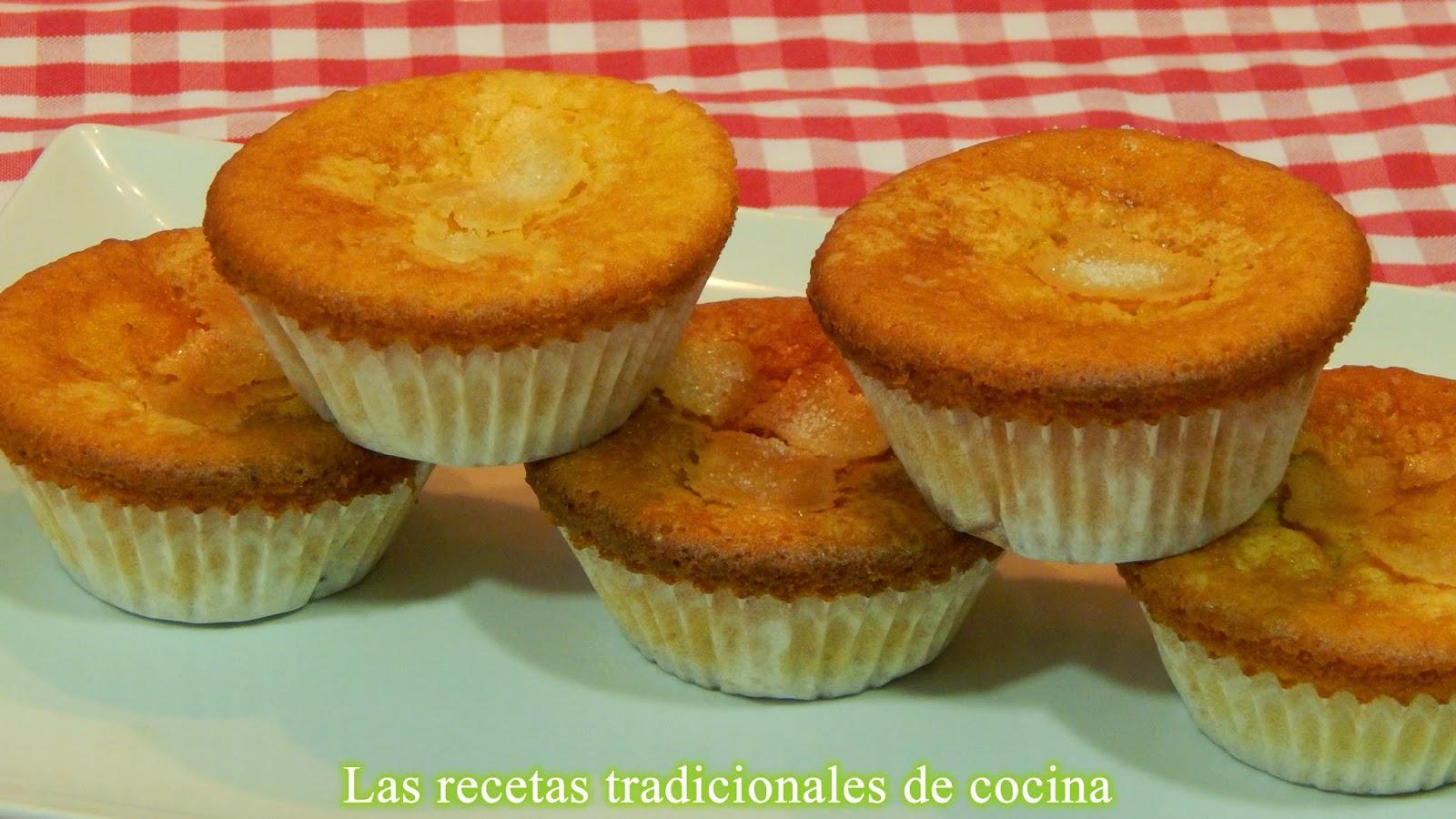 Cupcakes o muffins de calabaza