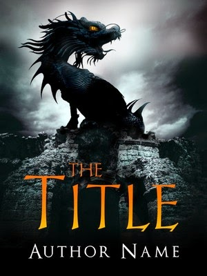 dragon premade book cover ccr
