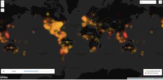 Twitter Heat Map
