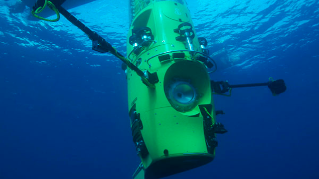 Challenger DeepLocated at the bottom of the Marianas Trench 10,911 m (35,797 ft) below sea level only three people have ever reached the bottom.