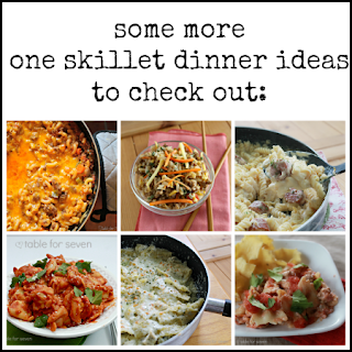 Chicken Bacon Ranch Pasta Skillet • Table for Seven