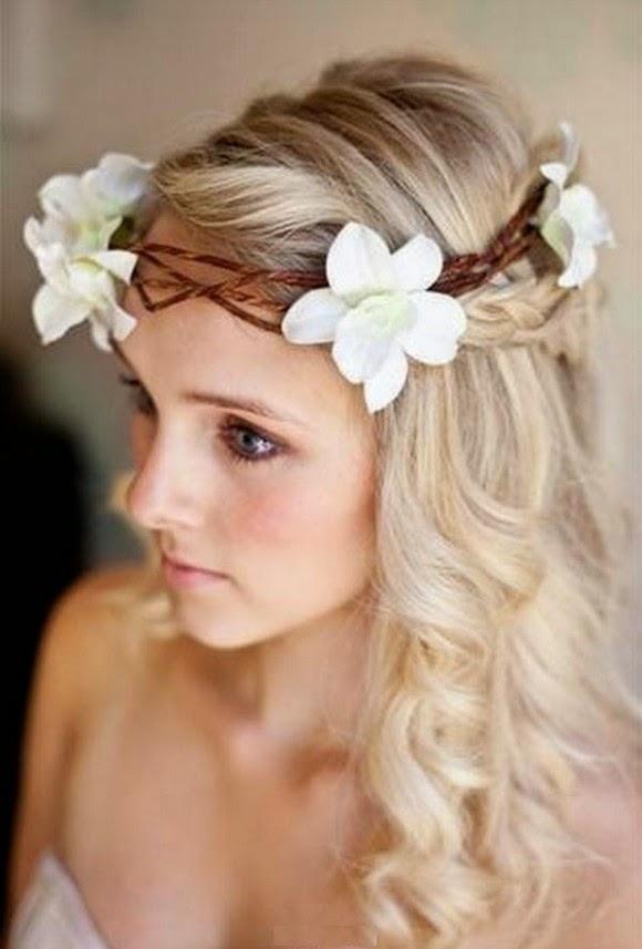 Wedding Bridal Hairstyle Eastern Western New Fashion 2015 Hair
