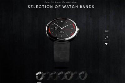 Sejumlah Penampakan Smartwatch Moto 360