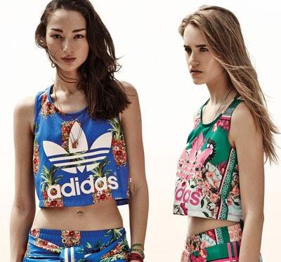 Adidas Originals e Farm coleção 2014
