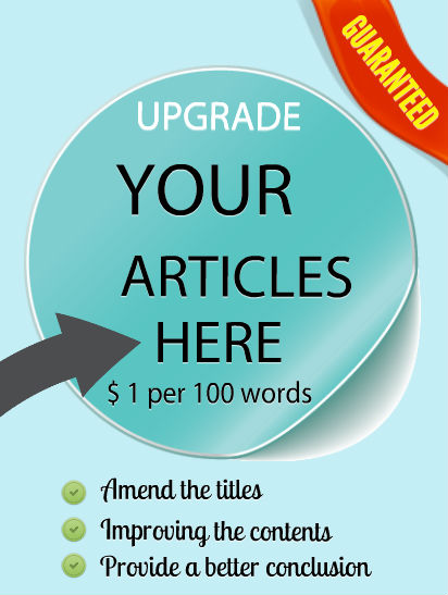 Upgrade your articles here