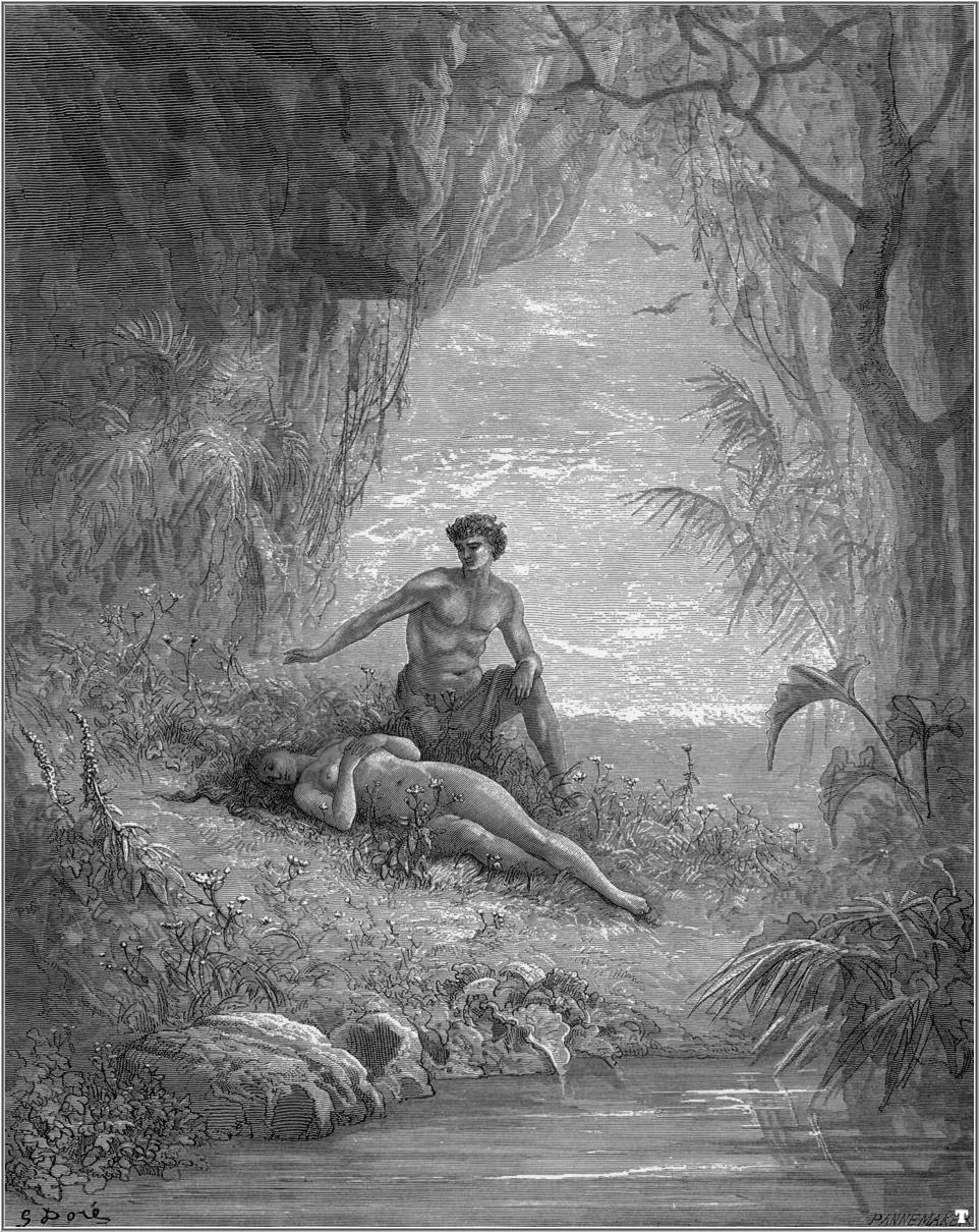 the depiction of the fall of a man in john miltons paradise lost Comparing godly and satanic happiness in john milton's paradise lost: john milton comparing godly and satanic happiness in john milton's paradise lost.