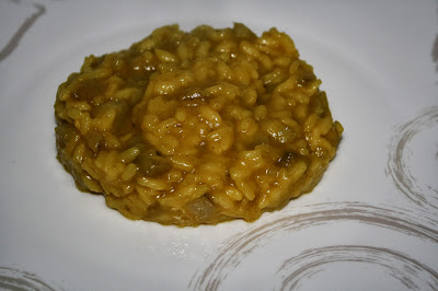 risotto con topinambour e zafferano