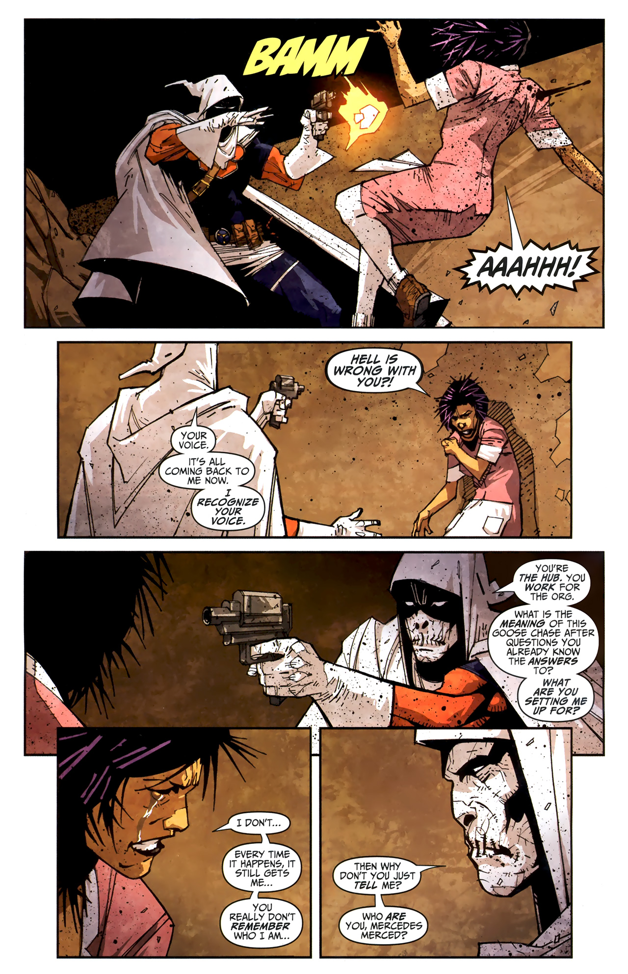 Read online Taskmaster (2010) comic -  Issue #3 - 23