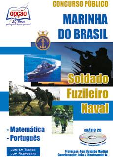 Apostila Marinha Concurso Fuzileiro Naval (CPesFN) do Brasil.
