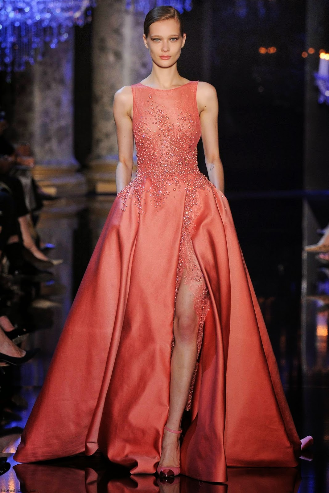 Collection haute couture elie saab automne hiver 2014 2015 tout pour mon mariage Style me pink fashion show